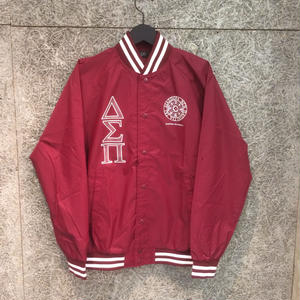Diaspora Skateboards STADIUM JACKET BURGANDY