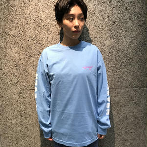 CRAILTAP WHATEVER L/S TEE CAROLINA BLUE