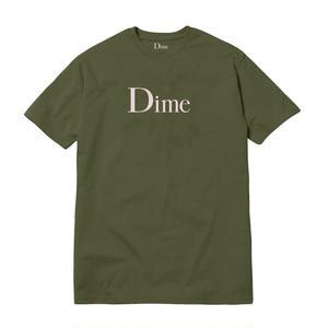 DIME CLASSIC LOGO T-SHIRT  GREEN