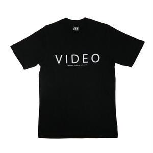 P.A.M VIDEO SHORT SLEEVE T-SHIRTS BLACK