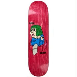 POLAR SKATE CO.DANE BRADY  BACON HAIR DECK  7.8inch