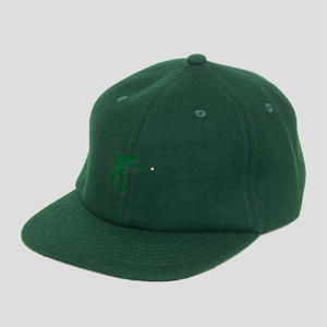 "PASS~PORT ""POOL"" WOOL CAP FOREST"