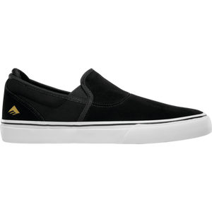 EMERICA  WINO G6 SLIP ON BLACK