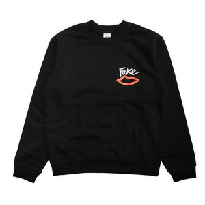 SEX SKATEBOARDS FAKE CREW NECK BLACK