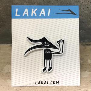 LAKAI FLARE FACE PIN