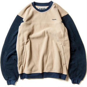 TIGHTBOOTH PRODUCTION GOD FLEECE PULLOVER BEIGE