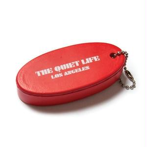 THE QUIET LIFE ZONE FLOATABLE KEYRING RED