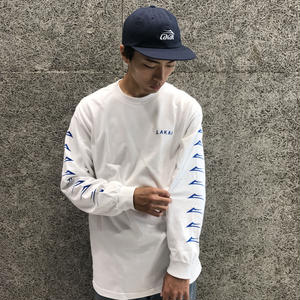 LAKAI FLARED LS TEE WHITE