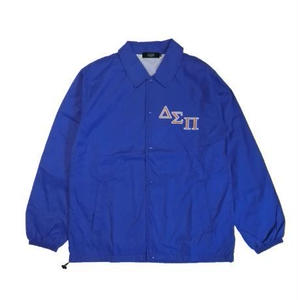 DIASPORA SKATEBOARDS OUTLINE MAGIC CIRCLE COACH JACKET BLUE