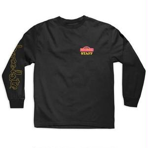 CHOCOLATE SKATEBOARDS SILENCE L/S TEE BLACK