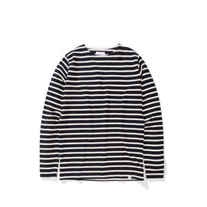 NORSE PROJECTS GODTFRED CLASSIC COMPACT LONGSLEEVE NAVY