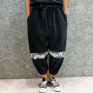 GARBAGE_TV IT'S AN EGYPT THING TRACK PANTS BLACK