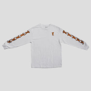 "PASS~PORT ""MORPHED"" L/S TEE WHITE"