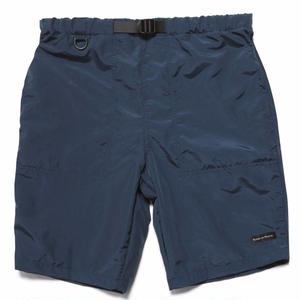 RAISED BY WOLVES FITZROY BELTED SHORTS NAVY