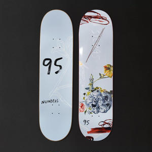 NUMBERS EDITION  SILVAS EDITION 5 DECK   8.28INCH