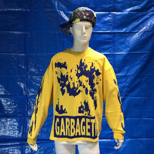 GARBAGE_TV ROBERTS DREAM L/S TEE YELLOW