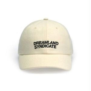 DREAMLAND SYNDICATE CORE LOGO CAP WHITE