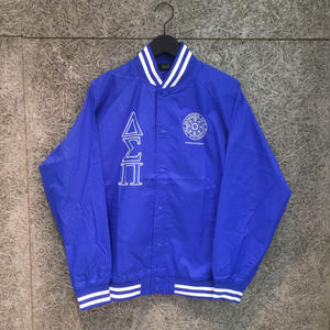 Diaspora Skateboards STADIUM JACKET BLUE