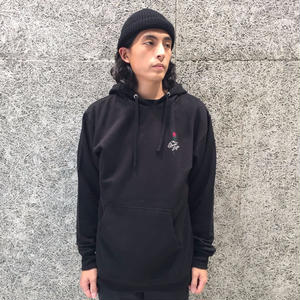 THE QUIET LIFE ROSE PULLOVER HOOD BLACK