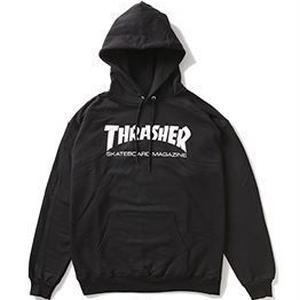 THRASHER MAGAZINE LOGO HOODIE BLACK