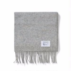 NORSE PROJECTS × JOHNSTONS LAMBSWOOL SCARF GREY