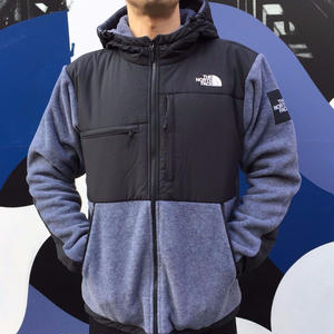 THE NORTH FACE DENALI HOODIE GREY