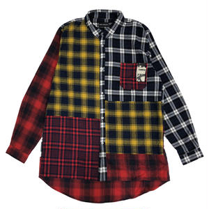 P.A.M   AXELROD  MULTI FLANNEL SHIRT