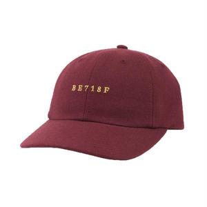 BELIEF 718 CAP BURGANDY