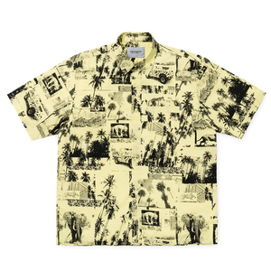 CARHARTT  SAFARI SHIRT - Safari Print, Spot