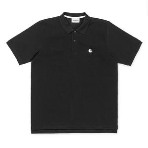 CARHARTT S/S CHASE PIQUE POLO BLACK
