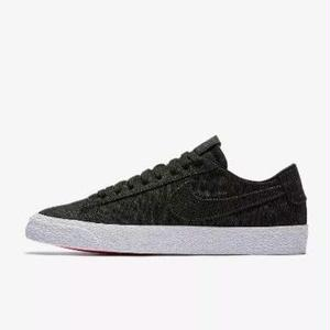NIKE SB BLAZER ZOOM LOW CANVAS DECONSTRUCTED  BLACK  / ANTHRACITE
