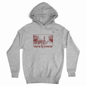 PASS~PORT HOUR OF POWER HOODIE GREY