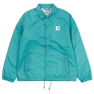 CARHARTT WIP SPORTS COACH JACKET SOFT TEAL