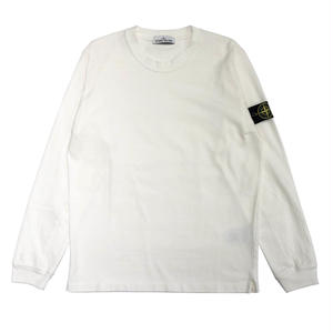 STONE ISLAND 64558 LONG SLEEVE SWEAT SHIRTS   WHITE