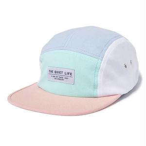 THE QUIET LIFE BOARDWALK 5 PANEL CAMPER HAT PINK