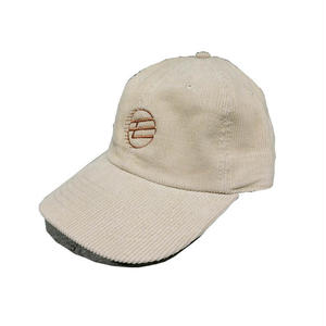MOMONGA MO LOGO CORDUROY CAP BEIGE