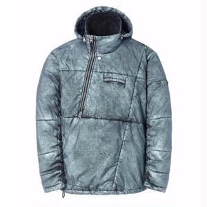 STONE ISLAND SHADOW PROJECT OBLIQUE PADDED ANORAK BLUE