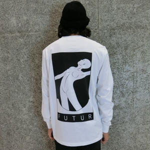 FUTUR    01  L/S T-SHIRTS   WHITE