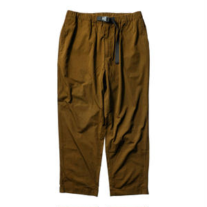 TIGHTBOOTH PRODUCTION T/C TAPERED PANTS BROWN