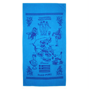"PASS~PORT ""INTERNATIONAL TEA TOWEL"" GREECE TOWEL"
