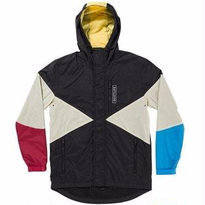 THE QUIET LIFE PACIFIC WINDBREAKER  BLACK/RED/BLUE