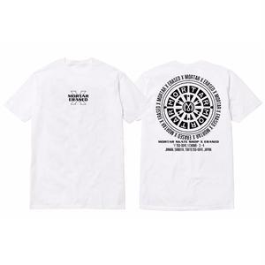ERASED × MORTAR CIRCLE SSTEE WHITE