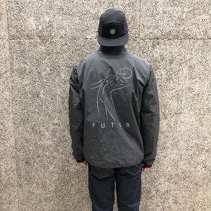 FUTUR INC LUX COACH JACKET GREY