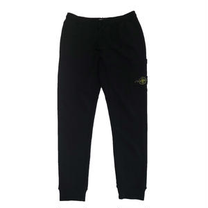 STONE ISLAND  SWEAT PANTS BLACK  60320