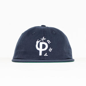 BY PARRA STOMP 6PANEL HAT NAVY