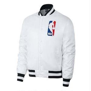 NIKE SB × NBA BOMBER JACKET WHITE
