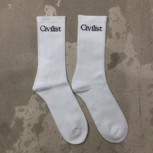 CIVILIST SOCKS WHITE