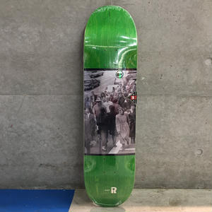 REAL SKATEBOARDS HUF STANDOUT 8.06
