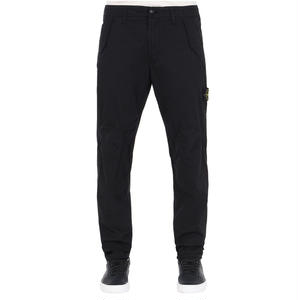 STONE ISLAND WORK  PANTS    BLACK   30303
