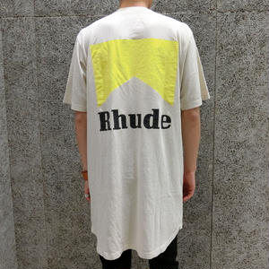RHUDE    CIGARETTE  T-SHIRTS  WHITE